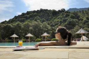 Piscine chauffée en Corse